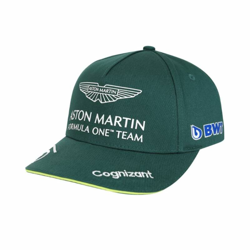 Aston Martin sapka - Sebastian Vettel zöld