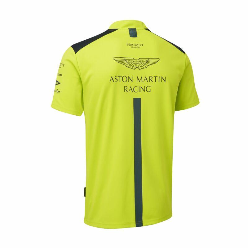 Aston Martin galléros póló - Team Line