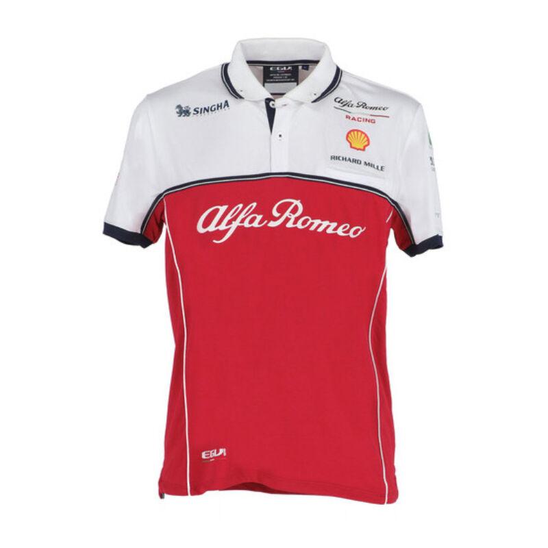 Alfa Romeo galléros póló - Team Line