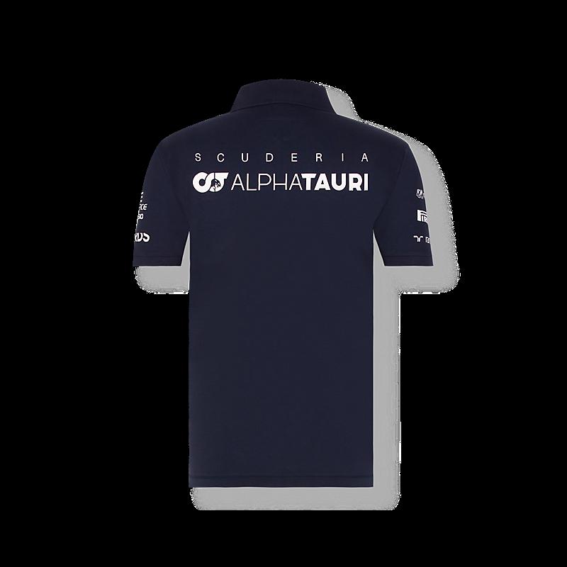 AlphaTauri galléros póló - Team fehér