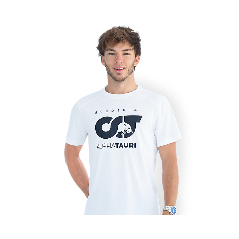 AlphaTauri póló - Team Logo fehér