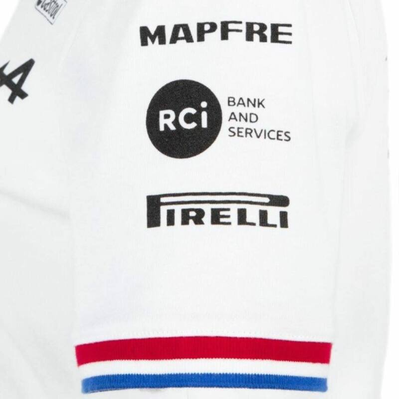 Alpine galléros póló - Team White