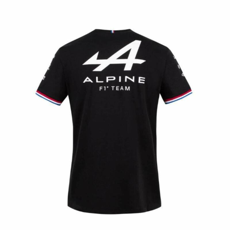 Alpine gyerek póló - Team Black