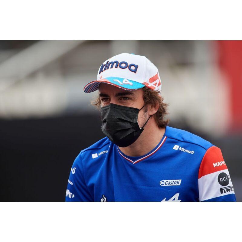 Alpine sapka - Alonso/French GP Limited Edition