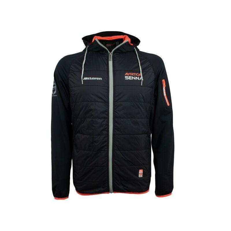Senna kabát - Three Times World Champion fekete
