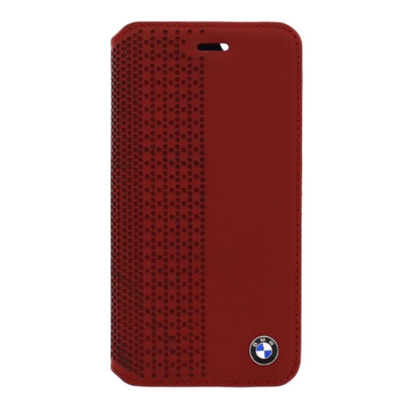 BMW könyv tok - Perforated piros