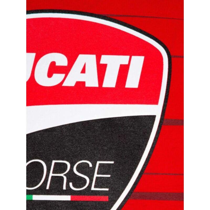 Ducati póló - Large Logo piros