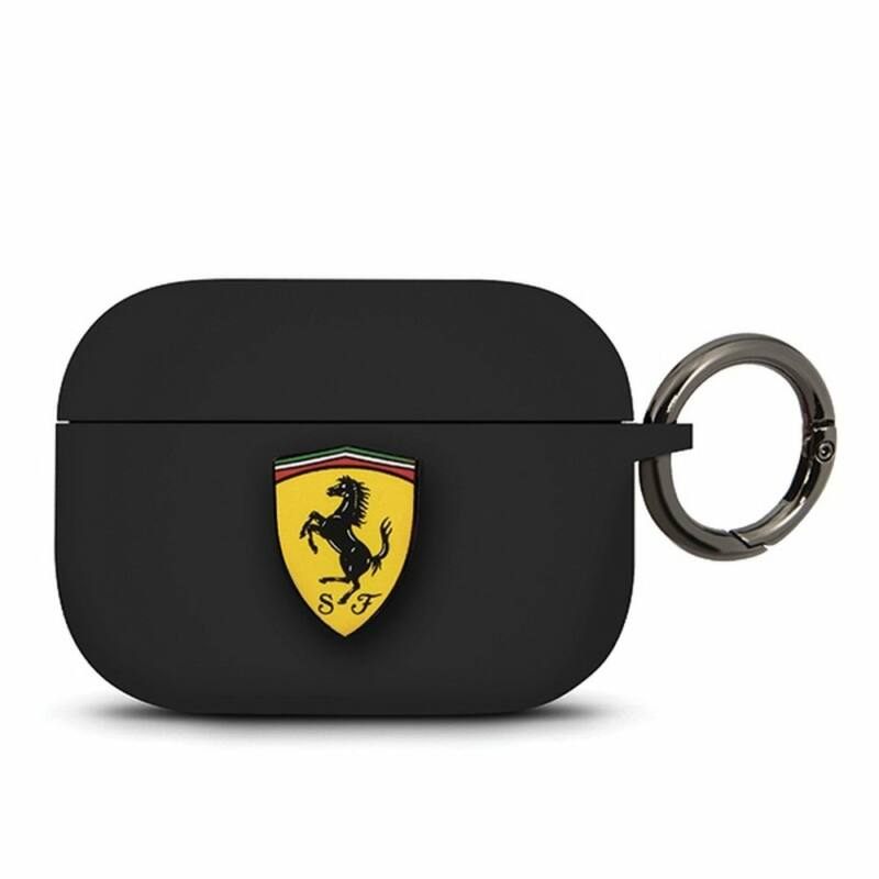 Ferrari Airpods tok - Scudetto fekete