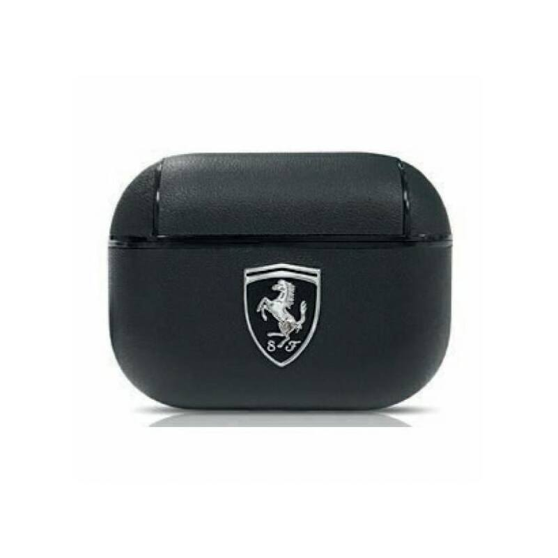 Ferrari Airpods tok - Scudetto Lifestyle fekete