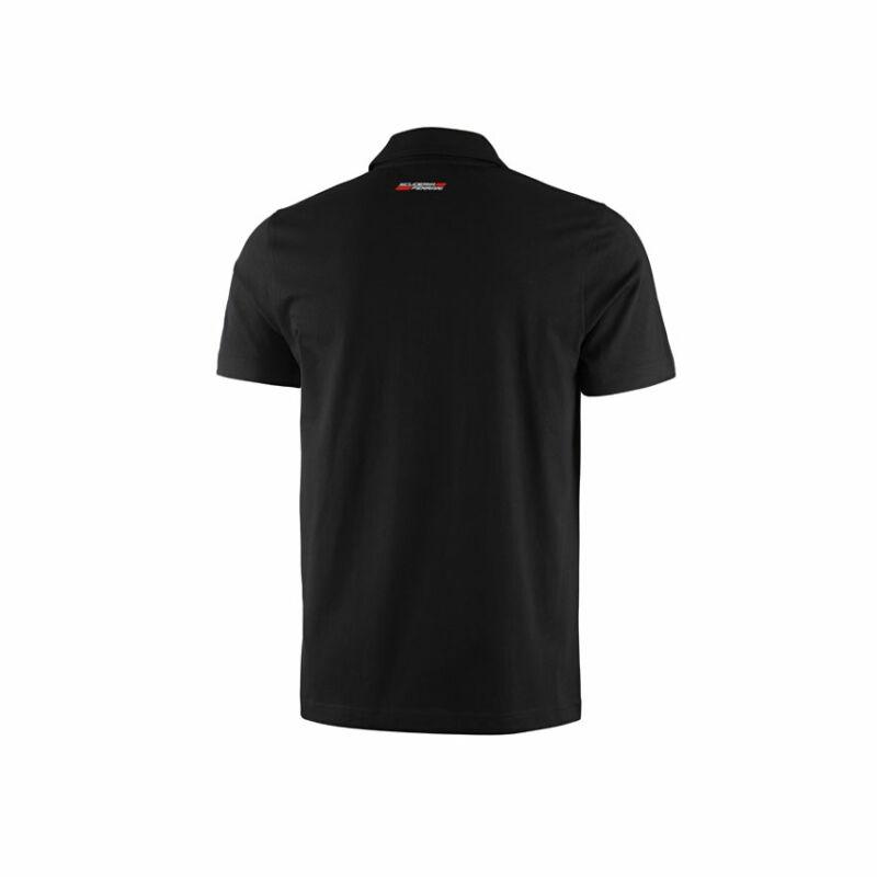 Ferrari galléros póló - Striped fekete