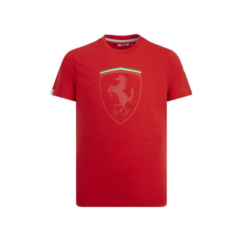 Ferrari póló - Large Scudetto Graphic piros