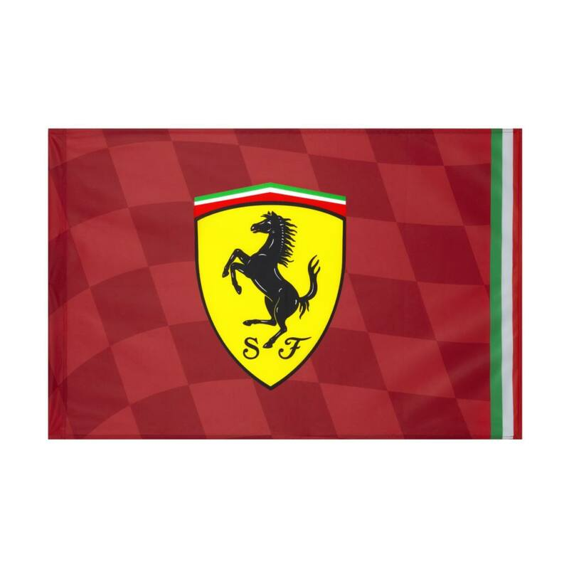 Ferrari zászló - Scudetto Italy Medium