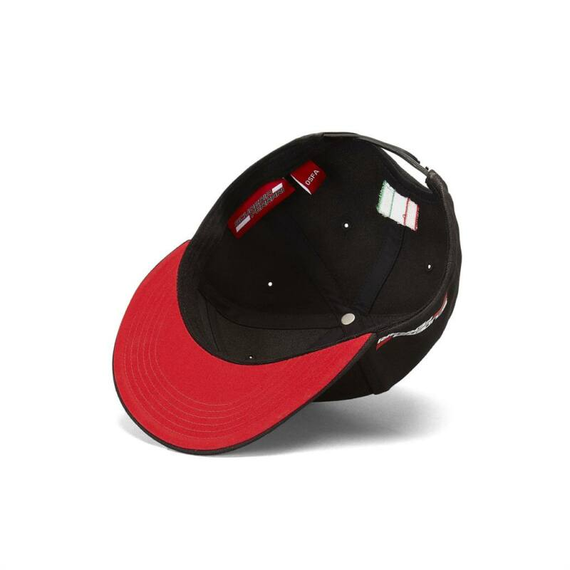 Ferrari sapka - Scudetto Flatbrim fekete