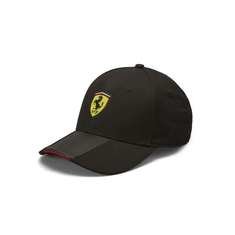 Ferrari sapka - Carbon Stripe fekete