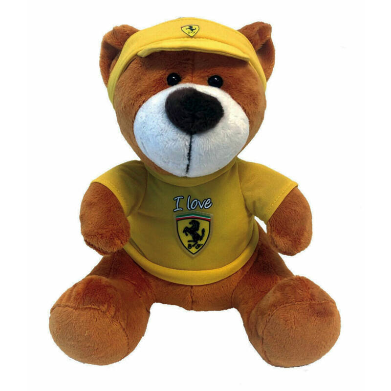 Ferrari plüss mackó - Tifosi Bear sárga