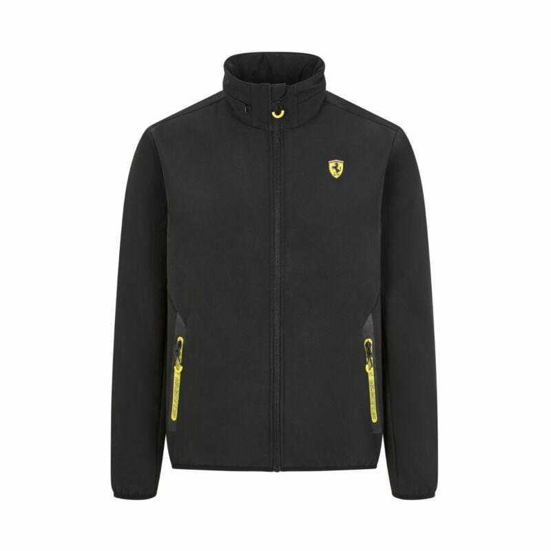 Ferrari softshell pulóver - Scudetto SF fekete