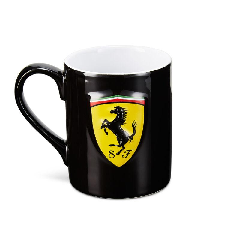 Ferrari bögre - Scudetto fekete