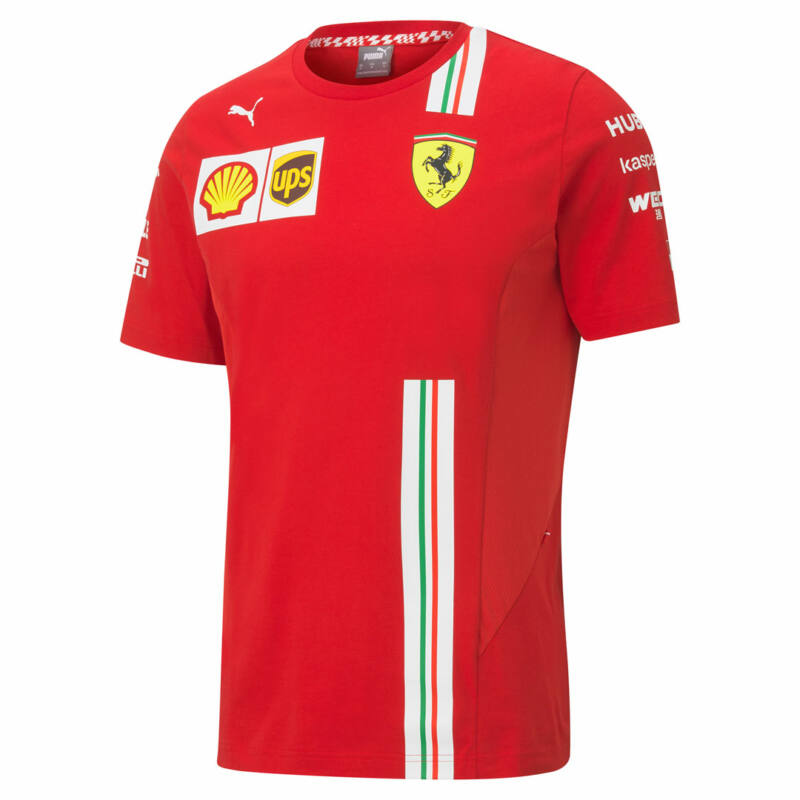 Ferrari póló - Team/Leclerc