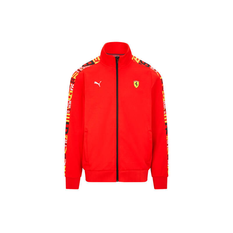 Ferrari pulóver - Race Track piros