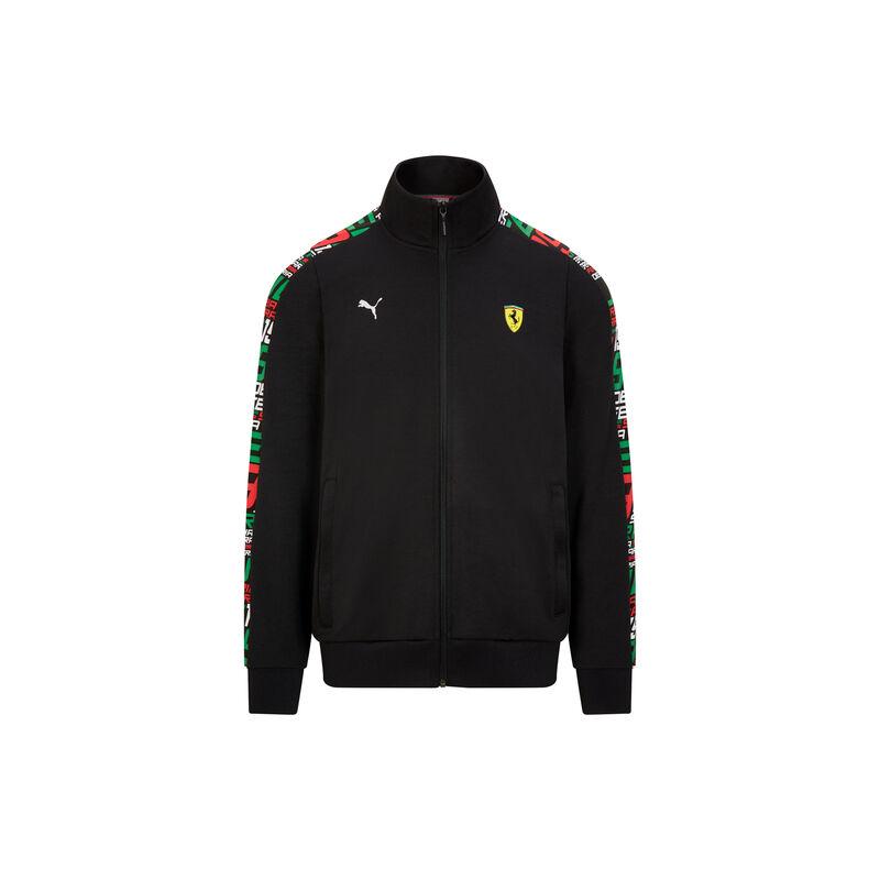Ferrari pulóver - Race Track fekete