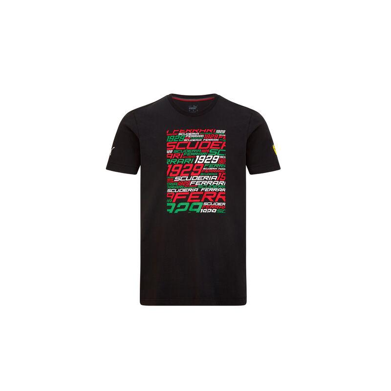 Ferrari póló - SF Graphic fekete