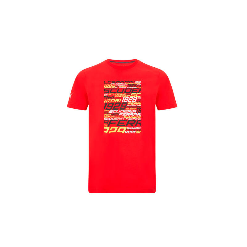 Ferrari póló - SF Graphic piros