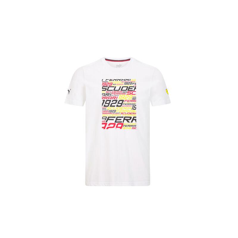 Ferrari póló - SF Graphic fehér