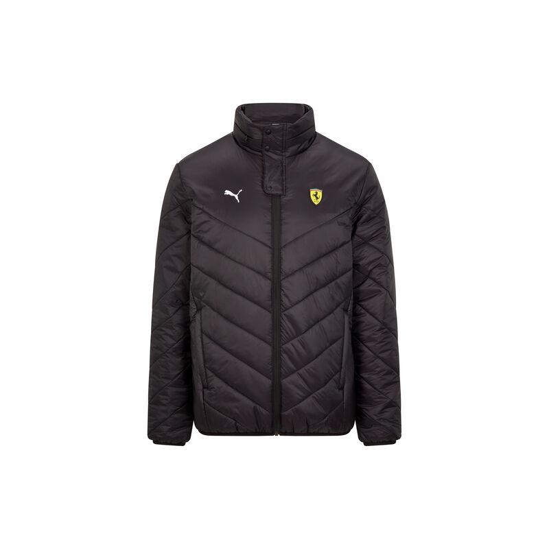 Ferrari kabát - Double Logo Winter fekete