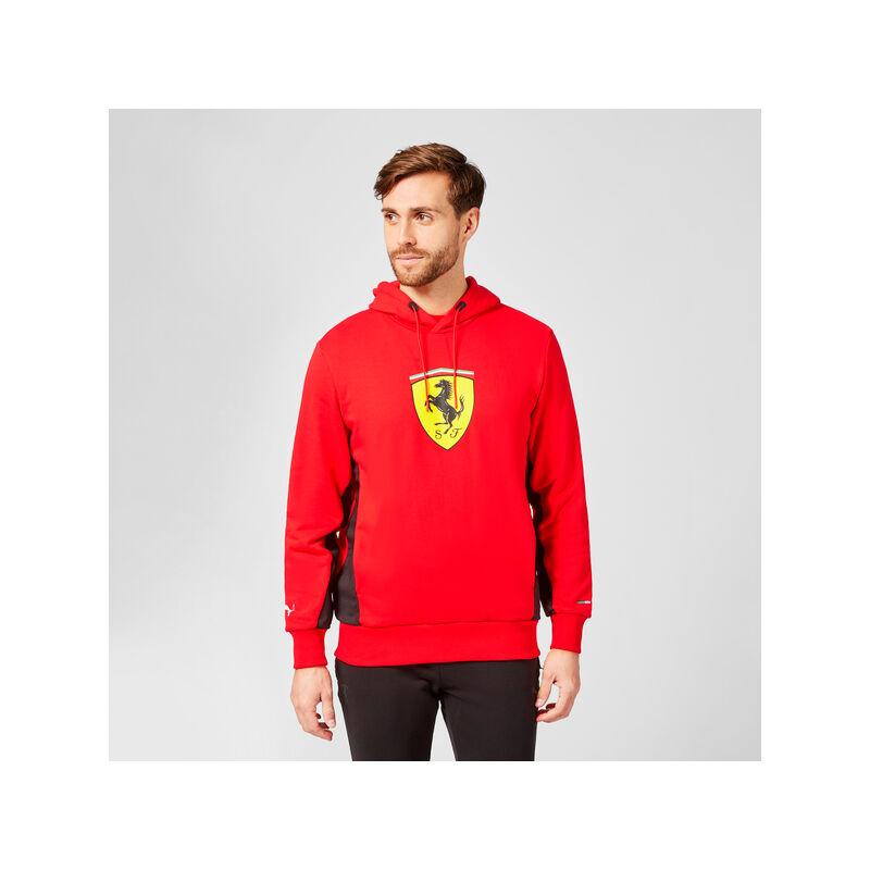 Ferrari pulóver - Scudetto Duocolor piros