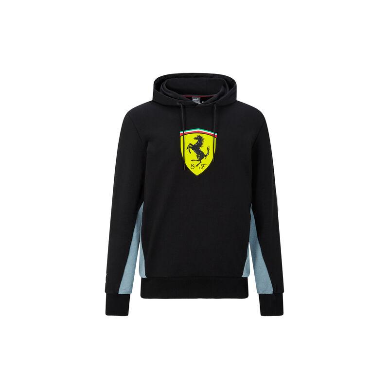 Ferrari pulóver - Scudetto Duocolor fekete