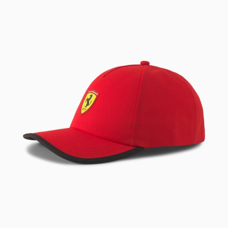 Ferrari sapka - Duocolor Stripe piros