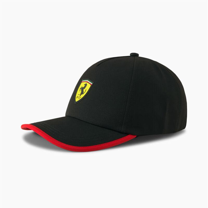 Ferrari sapka - Duocolor Stripe fekete