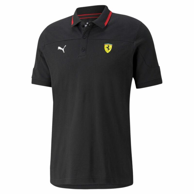 Ferrari galléros póló - Red Stripe