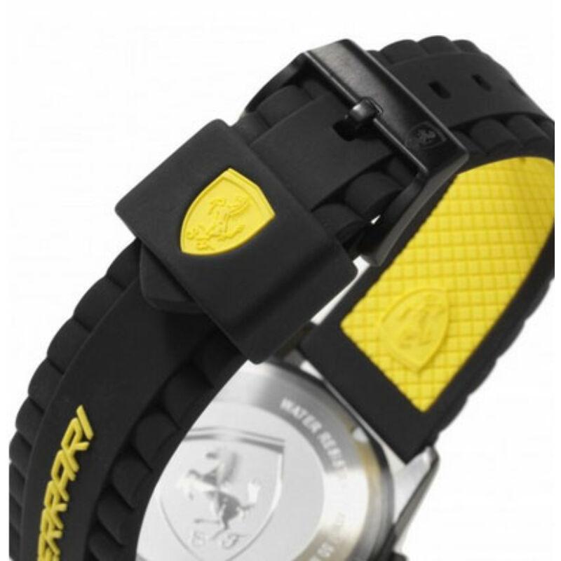Ferrari óra - Scuderia XX Chronograph, fekete-sárga