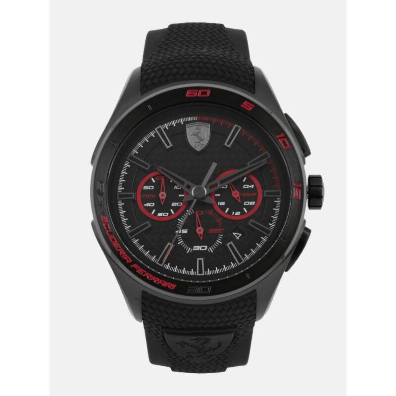Ferrari óra - Gran Premio fekete-piros