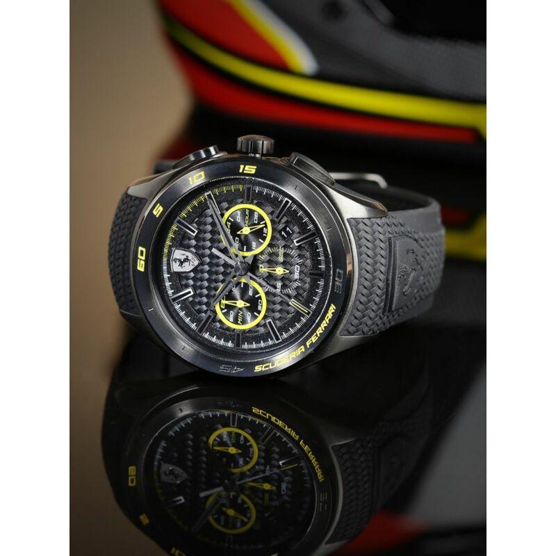 Ferrari óra - Gran Premio fekete-sárga