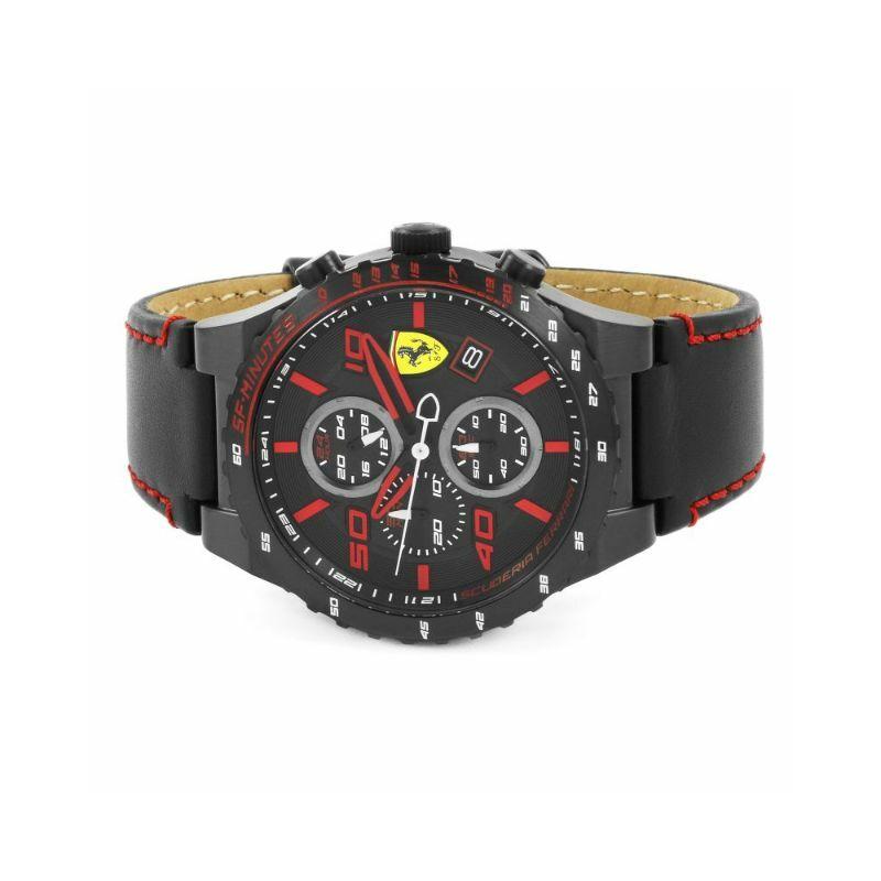 Ferrari óra - Speciale Evo Chrono fekete-piros