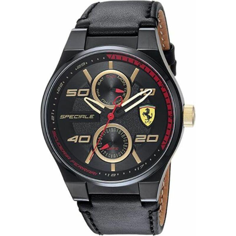 Ferrari óra - Speciale Multi fekete-arany