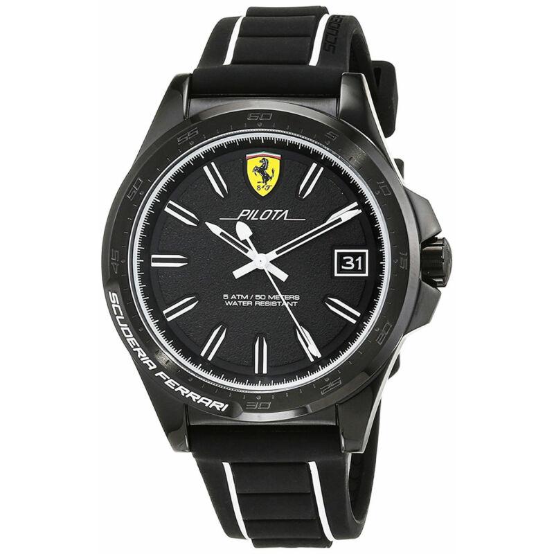 Ferrari óra - Pilota fekete-fehér