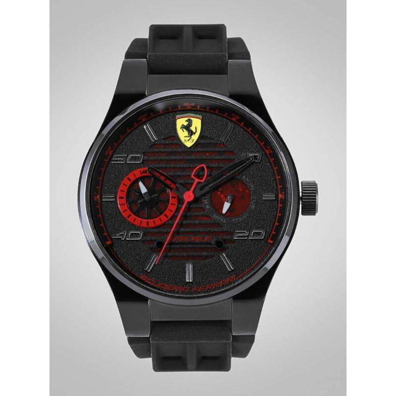 Ferrari óra - Speciale Chrono fekete-piros