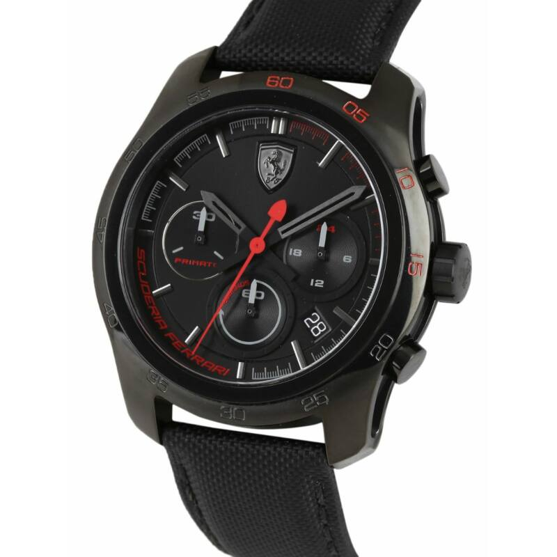 Ferrari óra - Primato Chrono fekete
