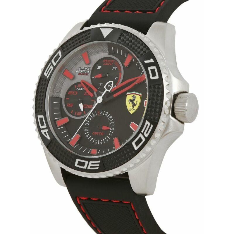Ferrari óra - KERS Extreme fekete-piros