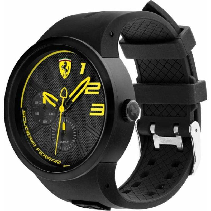 Ferrari óra - FXX Chrono fekete-sárga