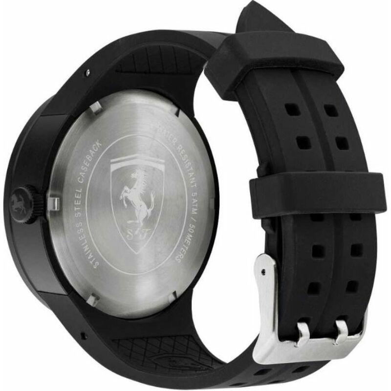 Ferrari óra - FXX Chrono fekete-fehér