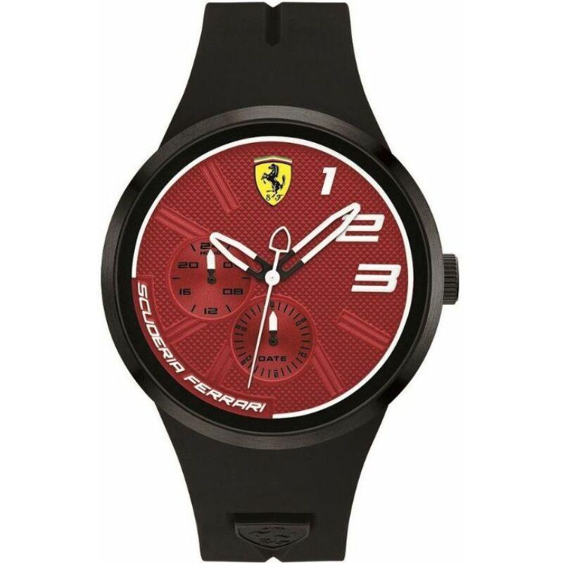 Ferrari óra - FXX Chrono fekete-piros