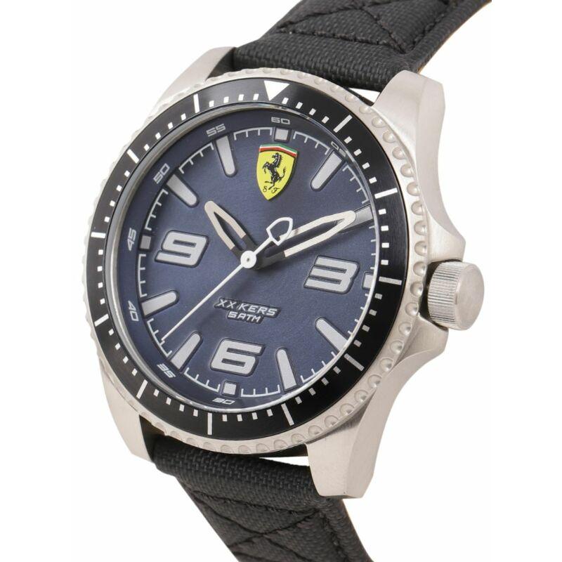 Ferrari óra - XX KERS Leather fekete-kék