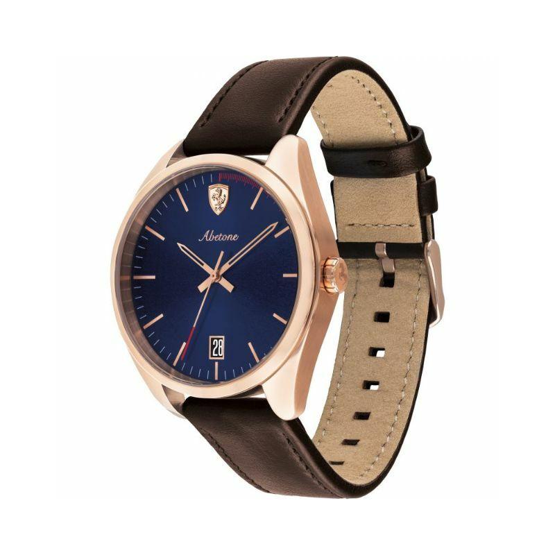 Ferrari óra - Abetone Leather arany-kék