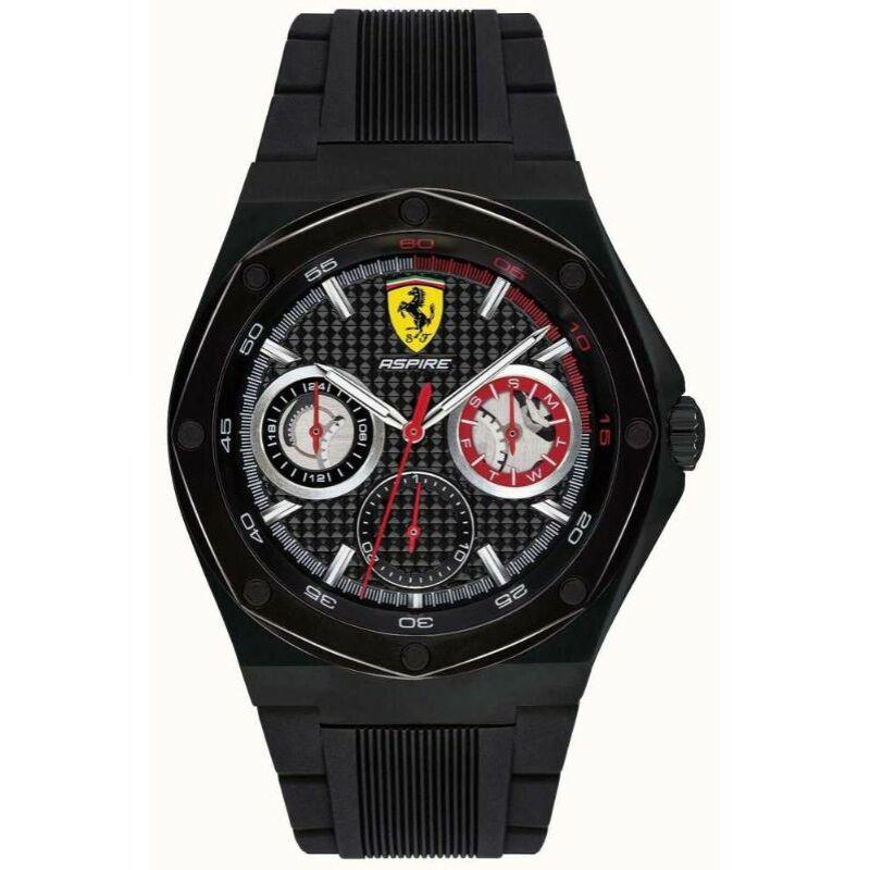 Ferrari óra - Aspire Chrono fekete