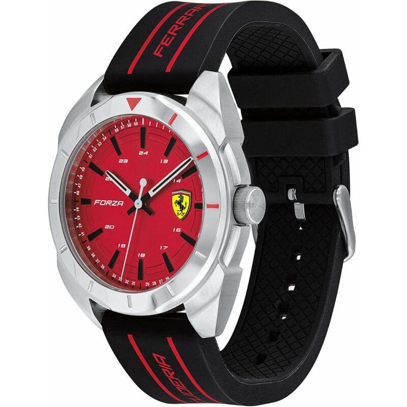 Ferrari óra - Forza ezüst-piros