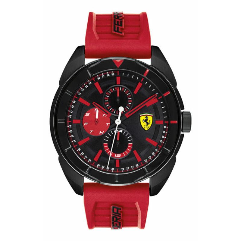 Ferrari óra - Forza Chrono piros-fekete